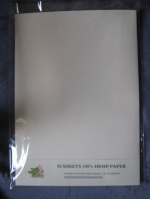 50 SHEETS HEMP PAPER