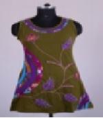 CSDW-241 Short cotton dress