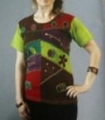 KCHT-132 Embroidered Cotton T-Shirt