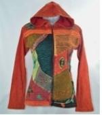KCWJ-298 Cotton Patchwork Jacket